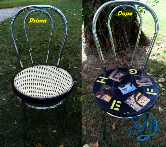 Sedie prima e dopo/Chairs before and after